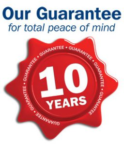 !0 Year Guarantee