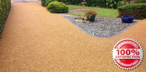 picture of a resin bound driveway