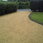 Picture of a gravel driveway
