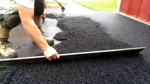 Rubber Crumb Driveways